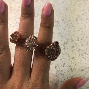 Kendra Scott Rosegold Naomi Adjustable Ring